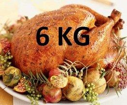 06 kg Gevulde hele kalkoen ovenklaar