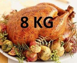 08 kg Gevulde hele kalkoen ovenklaar
