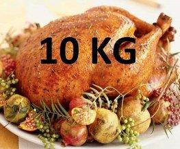 10 kg Gevulde hele kalkoen ovenklaar