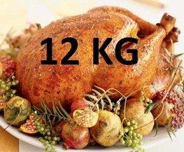 12 kg Gevulde hele kalkoen ovenklaar