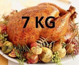 07 kg Gevulde hele kalkoen ovenklaar
